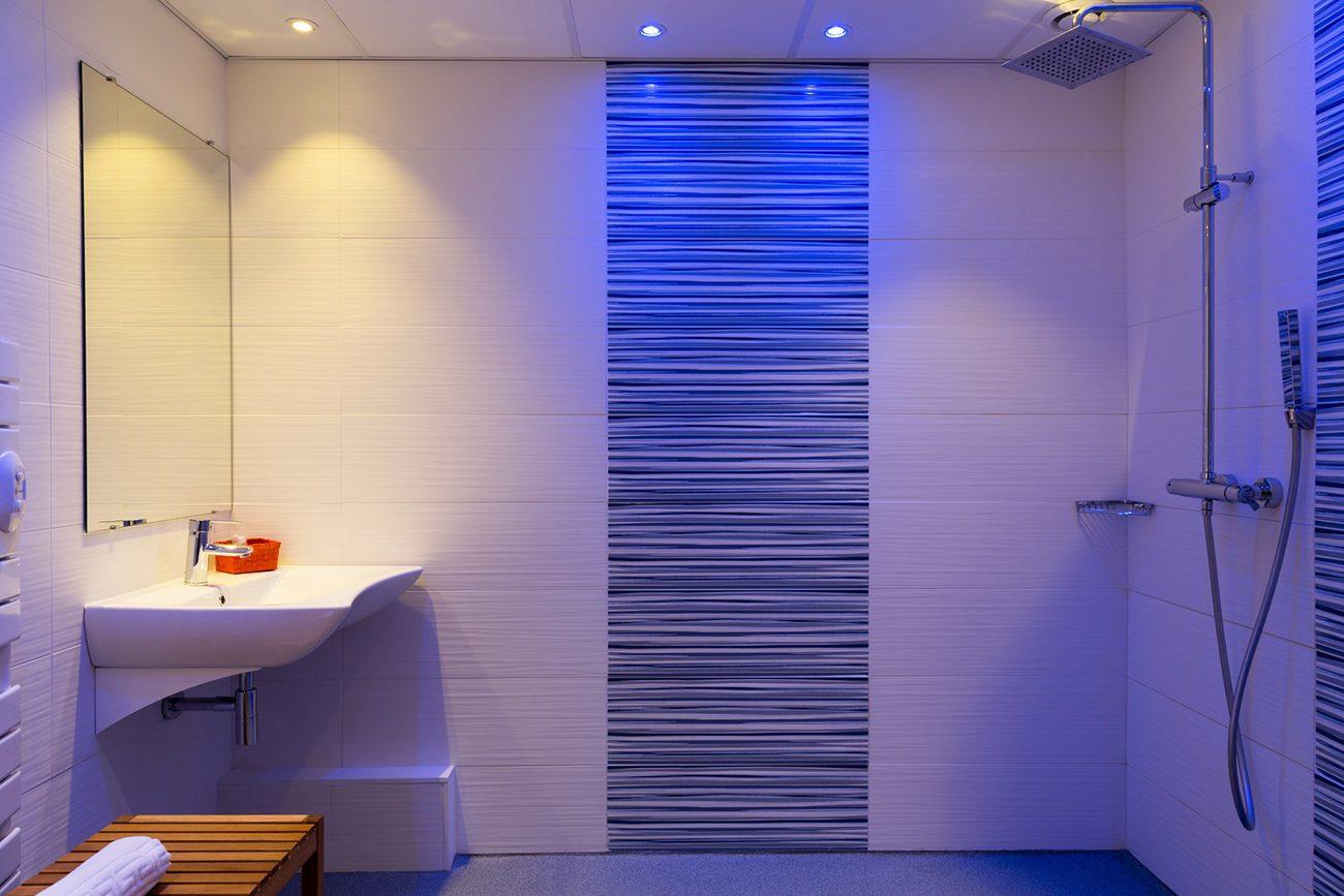 Salle de bain hôtel Tresses
